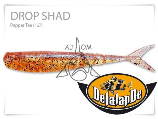 Drop Shad 7cm Pepper Tea