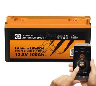 Liontron Lithium LiFePO4 LX Smart BMS 12,8V 100Ah